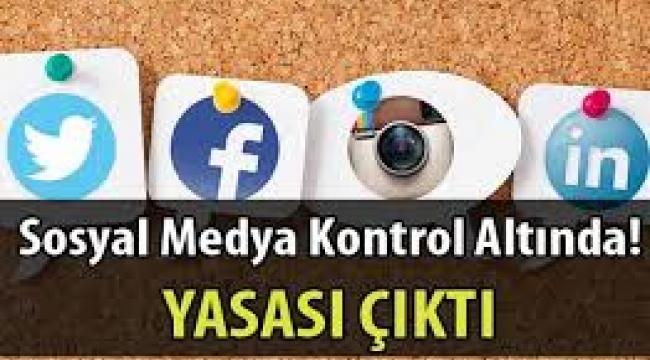Sosyal medya yasası ne götürüyor