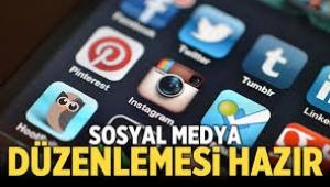 Türkiye Sosyal medya düzenlemesi hazır