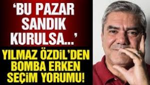 Yılmaz Özdil'den erken seçim yorumu: AKP kaybedecek!