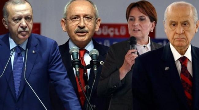 Son ankette MHP meclise giremiyor: AKP Yüzde 35