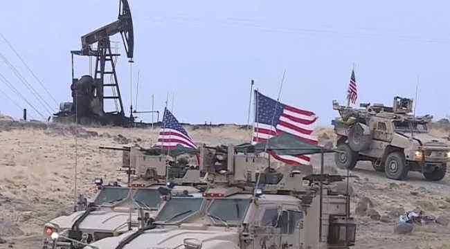 Suriye'nin petrolleri yağmalanıyor...