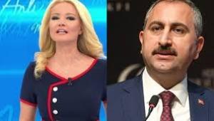 Adalet Bakanı Gül'den Müge Anlı'ya Savcı değilsin