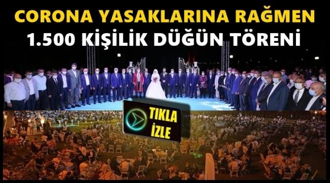 AKP'li vekilden 1500 kişilik koronavirüs düğünü