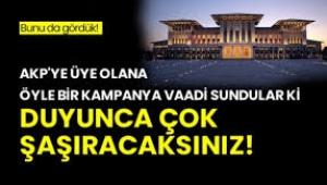 AKP ye Üye olun, külliyede 1 gün geçirme fırsatını yakalayın