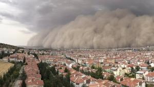 Ankara'da yeni kum fırtınası, uzaylıların işgali bekleniyor mu?