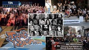 Ankara'nın taşına bak, tiyatrocuların gözyaşına bak!