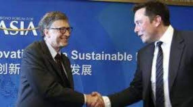 Bill Gates'e Elon Musk'tan flaş gönderme