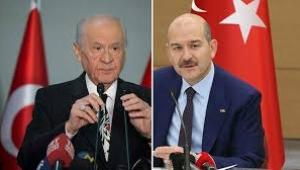 Devlet Bahçeli'den Süleyman Soylu'ya destek
