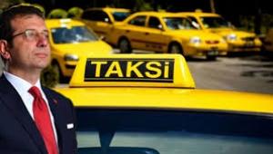 İmamoğlu ile taksiciler arasında dikkat çeken diyalog: