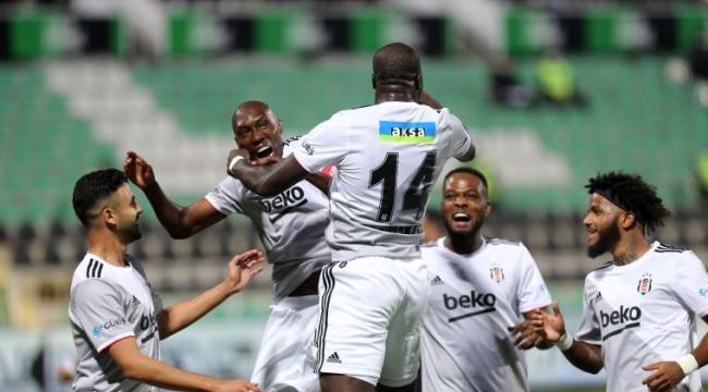 5 gollü maçta kazanan Beşiktaş