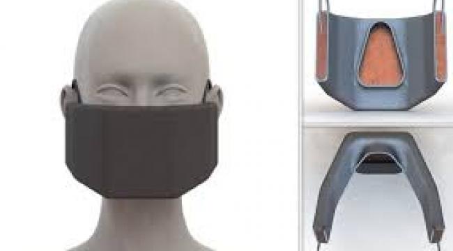 ABD'de Koronavirüs'ü yakan maske yapıldı