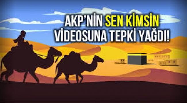 """AKP Gençlik Kolları'nın """"Sen Kimsin?"""" videosu tepki çekti!"""