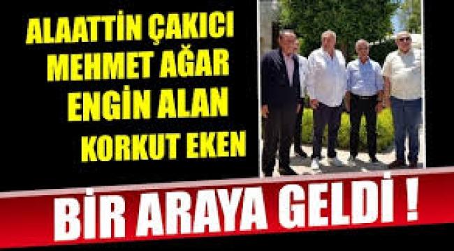 Alaattin Çakıcı, Mehmet Ağar, Engin Alan, Korkut Eken bir arada