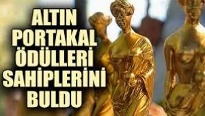 Antalya'da Altın Portakal Ödülü'nün sahipleri belli oldu