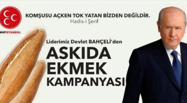 Bahçeli'nin askıda ekmek kampanyası en çok AKP'yi rahatsız etti
