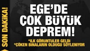 Ege ve Marmara bölgesinde şiddetli deprem
