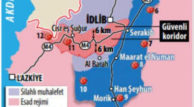 İdlib'de o zor karar sonunda alındı