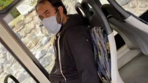 Otobüste mastürbasyon yapan şahıs gözaltına alındı