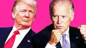 Trump ve Biden, 3 Kasım'dan önce son kez canlı yayında karşı karşıya geldi