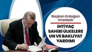 Türkiye ihtiyaç sahibi ülkelere un ve bakliyat yardımı yapacak