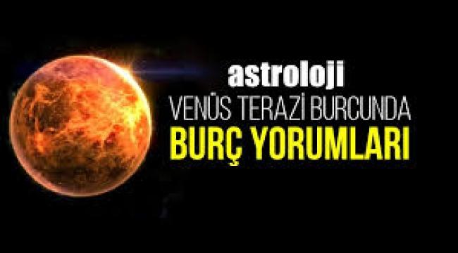 Venüs Terazi burcunda burç yorumları