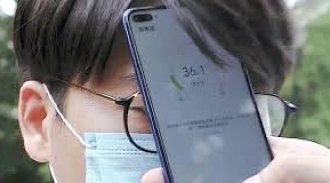 Ateş ölçen akıllı telefon Huawei tarafından patentlendi