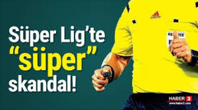 Bakanlıkta Süper Lig skandalı