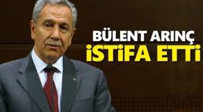 Bülent Arınç, Yüksek İstişare Kurulu görevinden istifa etti