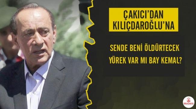 Çakıcı'dan Kılıçdaroğlu'na üçüncü tehdit