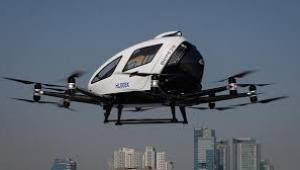 Drone taksiler ilk uçuşlarını gerçekleştirdi