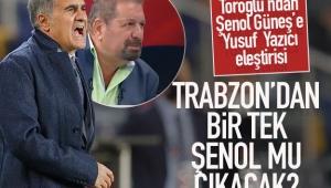 Erman Toroğlu: Trabzon'dan bir tek Şenol Güneş mi çıkacak?