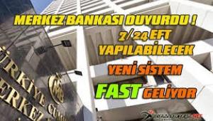 """""""FAST"""" Sistemi adı gibi hızlı olacak! Artık para transferi..."""