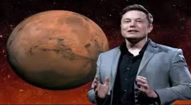 İnsanların Mars'ta yaşayacağı evin fotoğrafını gösterdi