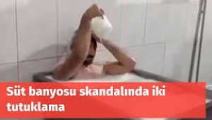Konya'daki süt banyosu skandalında tutuklama kararı