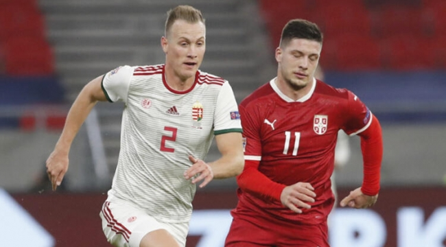 Macaristan 1-1 Sırbistan grup karıştı