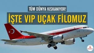 Tüm dünya kıskanıyor! İşte VIP uçak filomuz