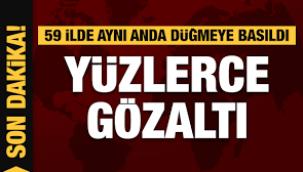 218 askere gözaltı kararı