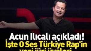 Acun Ilıcalı, O Ses Türkiye Rap'in jüri üyelerini açıkladı