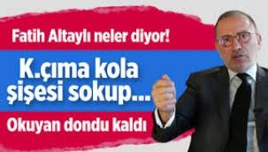 Adnan Oktar Örgütünü Yazdı: K.çıma Kola Şişesi Sokup..