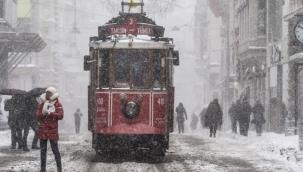 Alarm verildi! İstanbul'a 4 gün kar yağacak