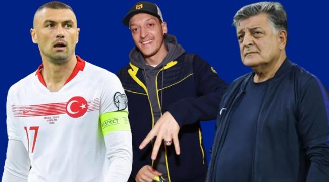 Burak Yılmaz'a olay Mesut Özil cevabı!