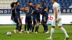 Fenerbahçe, Kasımpaşa'da çok farklı: 3-0