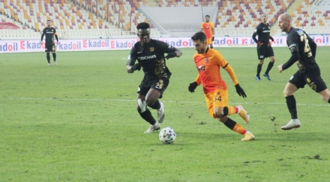 Galatasaray Malatya'da Babel'le kazandı