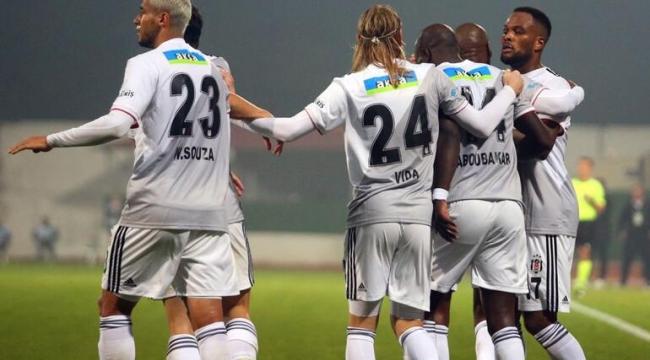 Hatayspor ile Beşiktaş kozlarını paylaştı. 2-2