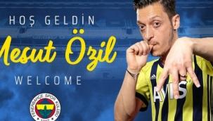 Mesut Özil, 3,5 yıllığına resmen Fenerbahçe'de