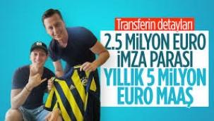 Mesut Özil'in Fenerbahçe'den alacağı ücret belli oldu...