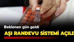 Sağlık çalışanları için koronavirüs aşısı randevu sistemi açıldı