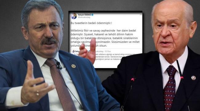 Saldırıya uğrayan Özdağ, Bahçeli hakkındaki açıklamasına dikkat çekti...