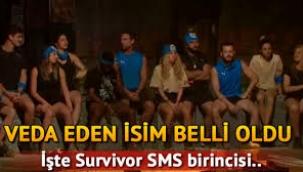 Survivor kim elendi? Survivor 2021 elenen isim ve SMS sıralaması belli oldu!