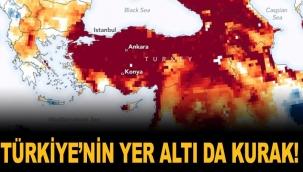 Türkiye'nin yer altı da kurak